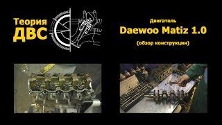 Теория ДВС: Двигатель Daewoo Matiz 1.0 (обзор конструкции). Евгений Травников.