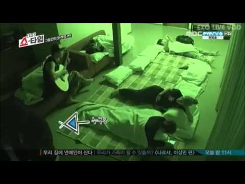 CHANYEOL SINGING CREEP CUT FROM EXO'S SHOWTIME EP 8