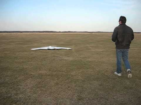 10 foot RC B2 Test flight