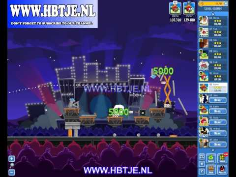 Angry Birds Friends Tournament Week 70 Level 4 high score 134k (tournament 4) Rock in Rio