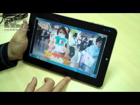 Wpad Win7: 10.1 inch Intel Atom-based tablet review