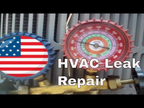 Leak Repair and Recharge