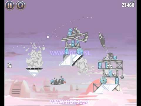 Angry Birds Star Wars Cloud City 4-10 3 stars