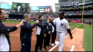 2014 Yankees Home Opener Introductions