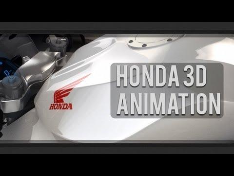 Honda CBR 600 RR [Short 3D animation]