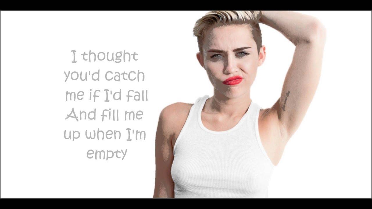 Miley cyrus someone else lyrics youtube