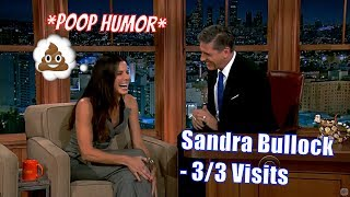 Sandra Bullock - Finds Humor In Craig's Accent & Mannerisms - 3/3 Visits In Chron. Order [480-720p]