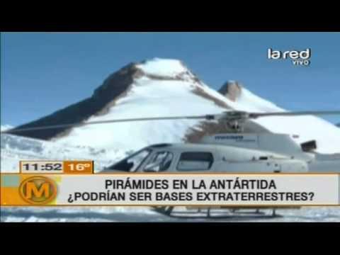 Impacto mundial por descubrimiento de pirámides en la Antártida