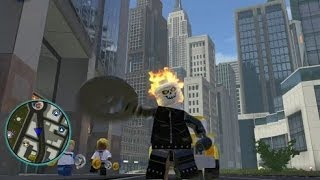 LEGO Marvel Super Heroes Unlocking Ghost Rider + Free