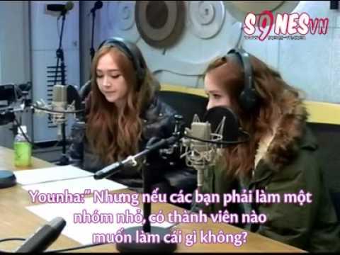 Vietsub 130115 FM Younha-'s Starry Night  - Jessica Hyoyeon Sooyoung Yoona.mkv