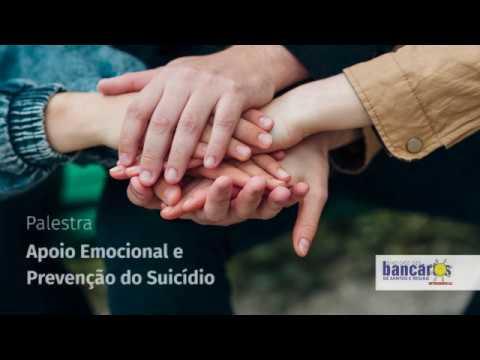 Apoio Emocional e Prevenção ao suicídio - palestra do CVV