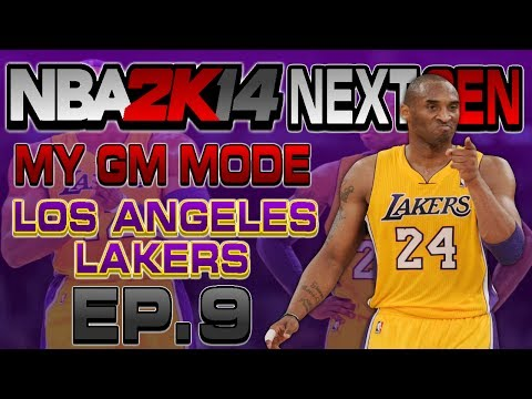 NBA 2K14 Next Gen My GM Mode Ep.9 - Los Angeles Lakers | Pau Gasol TRADED? | My GM Xbox One Gameplay
