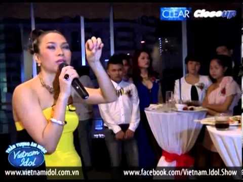 Vietnam Idol 2012 - Top 4 Chúc mừng Mỹ Tâm khai trương nhãn hiệu thời trang riêng