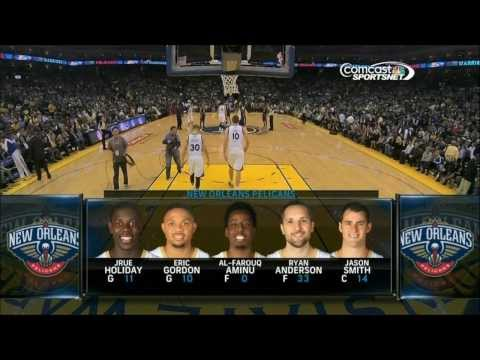 Warriors 2013-14 Season: Game 26 vs. Pelicans