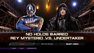 "WWE2K14 Defeat The Streak""REY MYSTERIO""""UNDERTAKER"