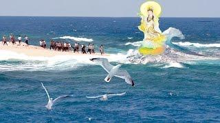 'Quan Thế Âm Bồ Tát' Hiển linh từ đáy biển cứu giúp ngư dân gặp nạn