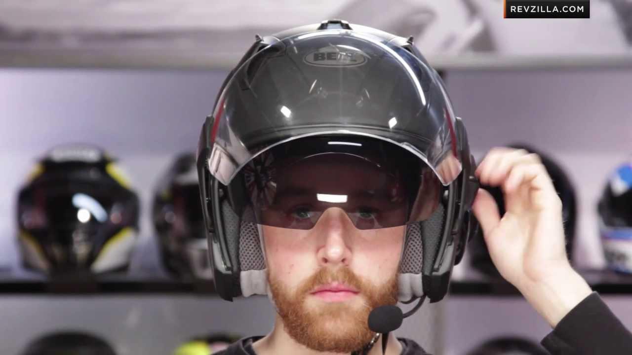 Bell Mag 9 Sena Helmet Review At Revzilla Com Youtube