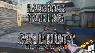 Team Killing Reactions! Angry Hacker Loses It! (Black Ops 2)