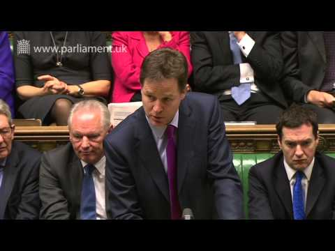Prime Minister's Questions: 12 March 2014