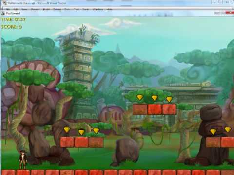 Building a Platform Game with XNA to Make Money Part 1