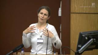 Jessica Elmore presented Exploring ESOL learners'information practices: A discussion of methods