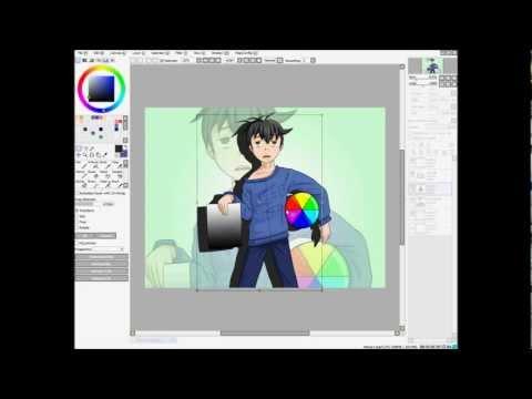Warping In Paint Tool Sai