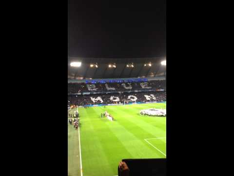 Manchester City v Barcelona Champions League Last 16 18/02/14