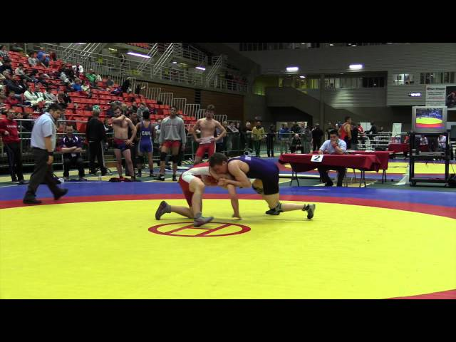 2014 Junior National Championships: 74 kg Bronze Tyler Rowe vs. Brayden Ambo