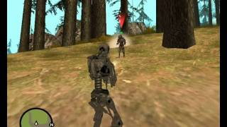 Predator (and Terminator) In gta san andreas Mission Mod