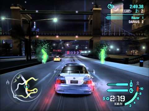 Need For Speed Carbon Final Boss- Razor vs Darius [HD],