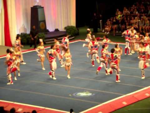 Thailand in ICU World Cheer 2011 part 4 (Show time)
