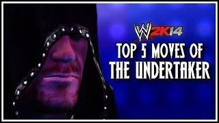 WWE 2K14 Top 5 Moves Of The Undertaker! (WWE 2K14
