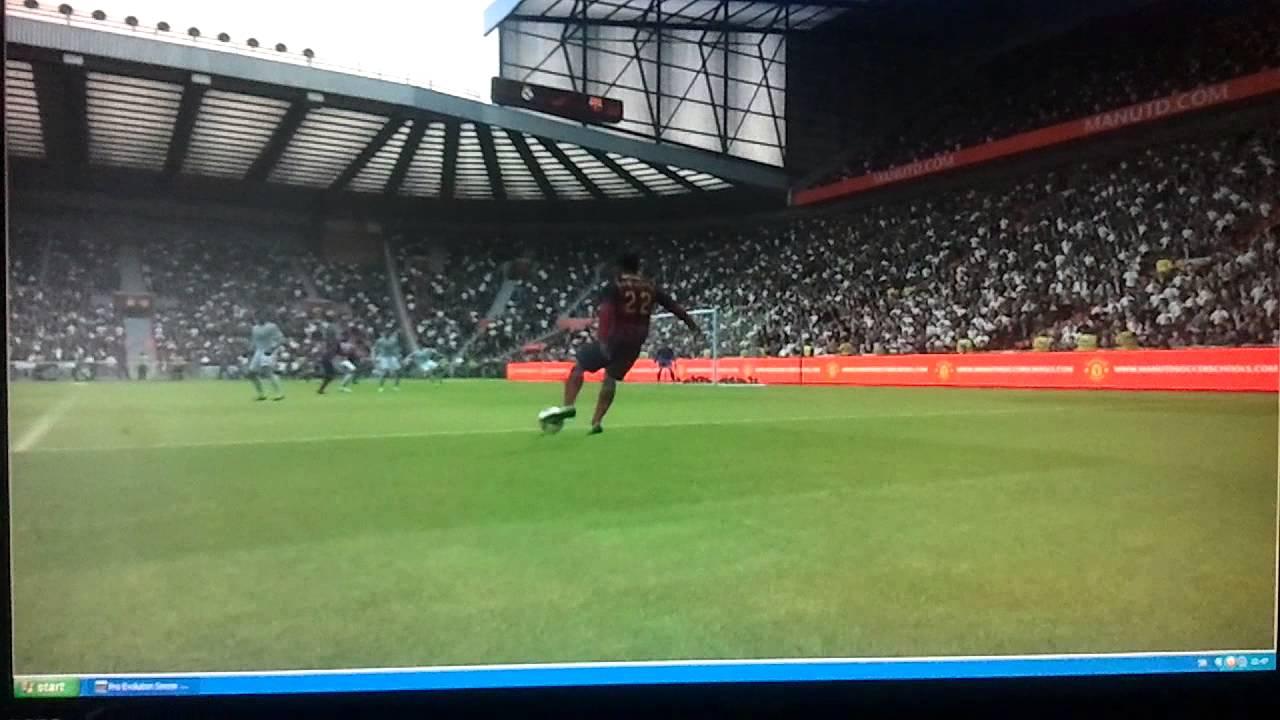 Pes 2014 lionel messi bicycle kick goal youtube - Messi bicycle kick assist ...