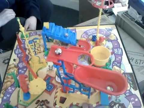 Mousetrap boardgame in action