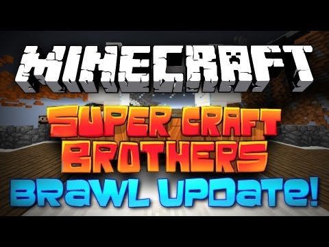 Minecraft: NEW Super Craft Bros Brawl! [DWELLER CLASS + 12 NEW MAPS!]