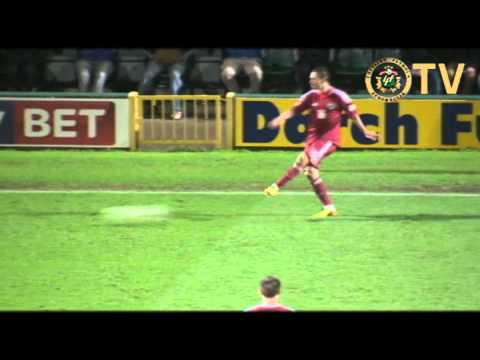 2013.11.18. Yeovil Town - Latvia (0:1) full match from