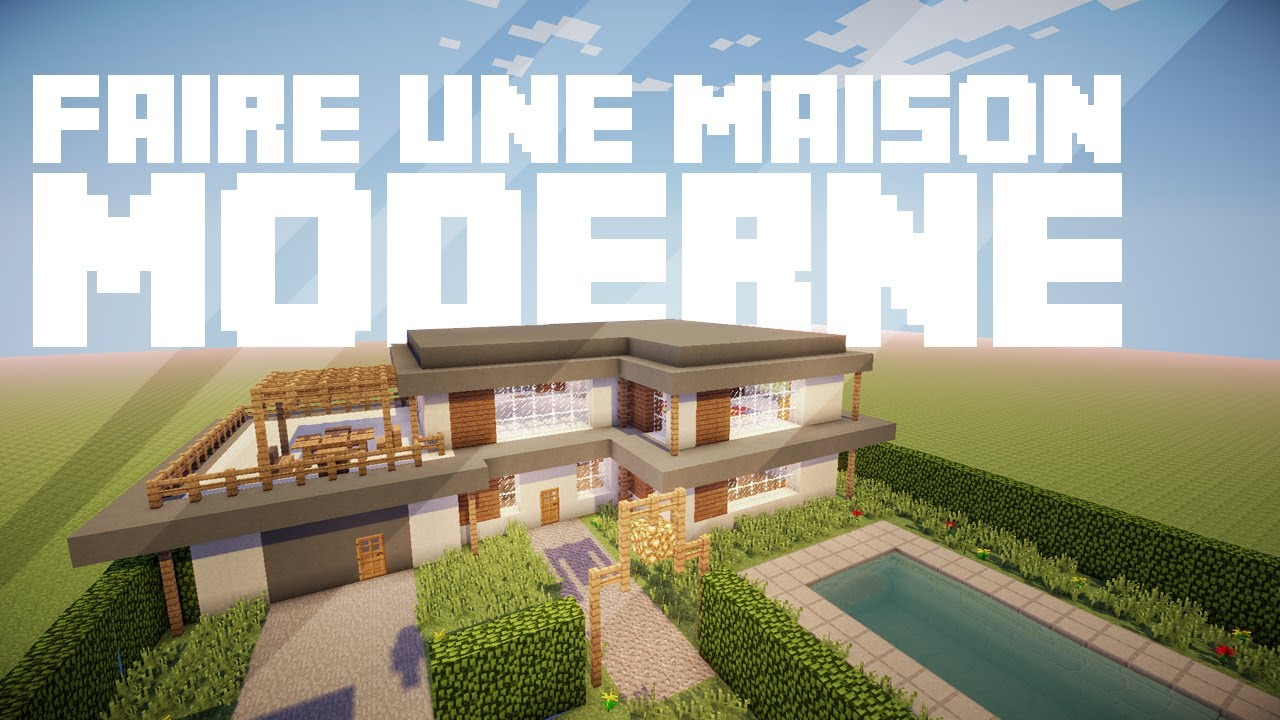 Maison moderne dansminecraft solutions pour la - Maison contemporaine solar solutions design ...