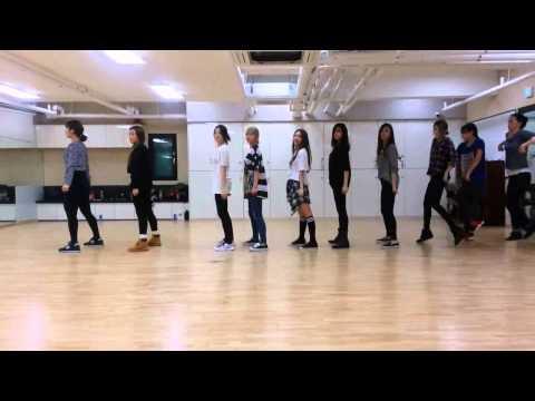 T ARA Little Apple học nhảy ( video lật rồi nhé, k cần tập ngược lại đâu )