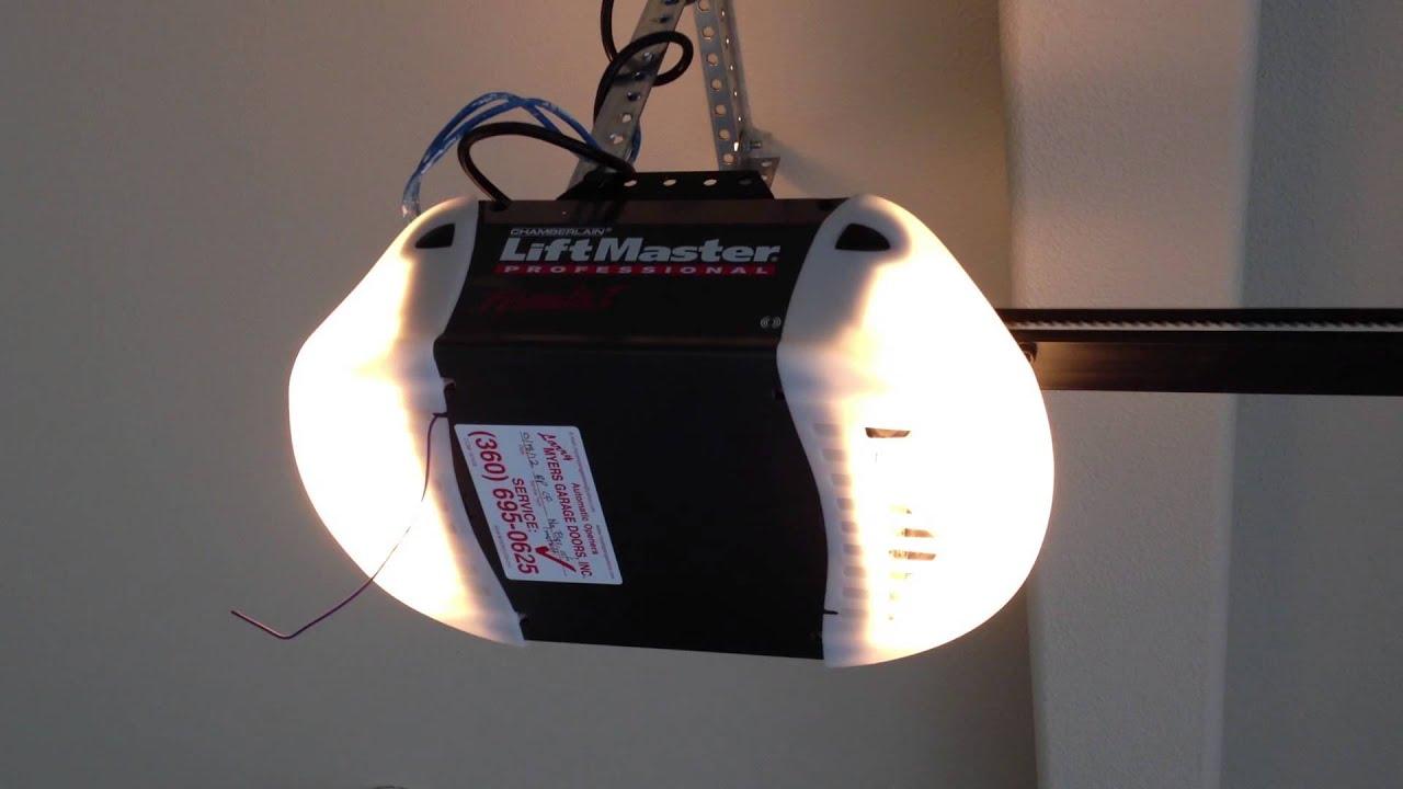 Liftmaster Professional 1 2hp Belt Drive Garage Door