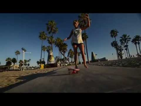 Streetpaddle with Laurent and Alexandra in Venicebeach