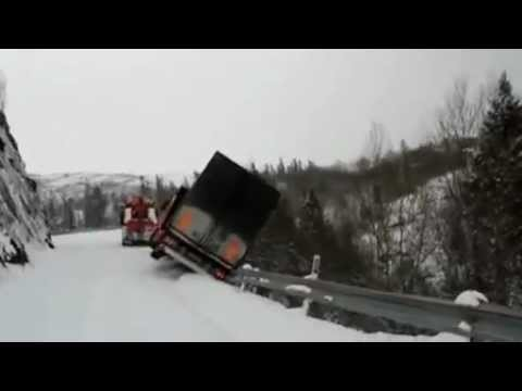 Tow Truck Accident In Northern Norway