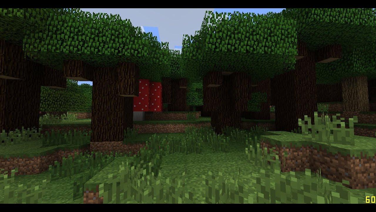 Minecraft 1 7 Roofed Forest Adventure Darkness Biome