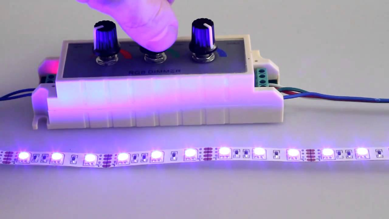 Регулировка яркости у светодиодной ленты своими руками 46