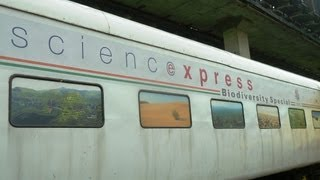 Margao Rly Stn, Science Xpress train etc view on youtube.com tube online.