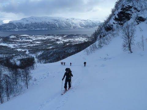 Esquí de Travesía en el Rotenvikfjellet, Alpes Escandinavos