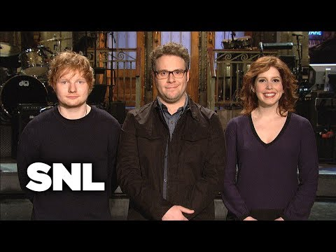 SNL Promo: Seth Rogen and Ed Sheeran