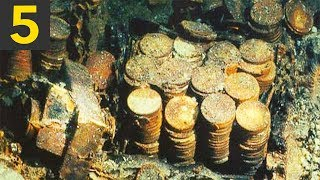 Top 5 BIGGEST Sunken Treasures Ever Found