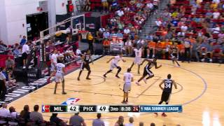 Summer League: Milwaukee Bucks vs Phoenix Suns