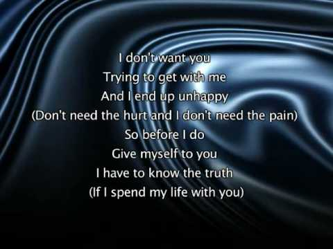 Jennifer Lopez - If You Had My Love, Lyrics In Video