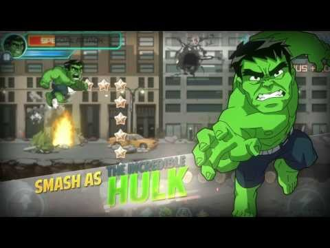 Marvel Run Jump Smash! - Trailer 1
